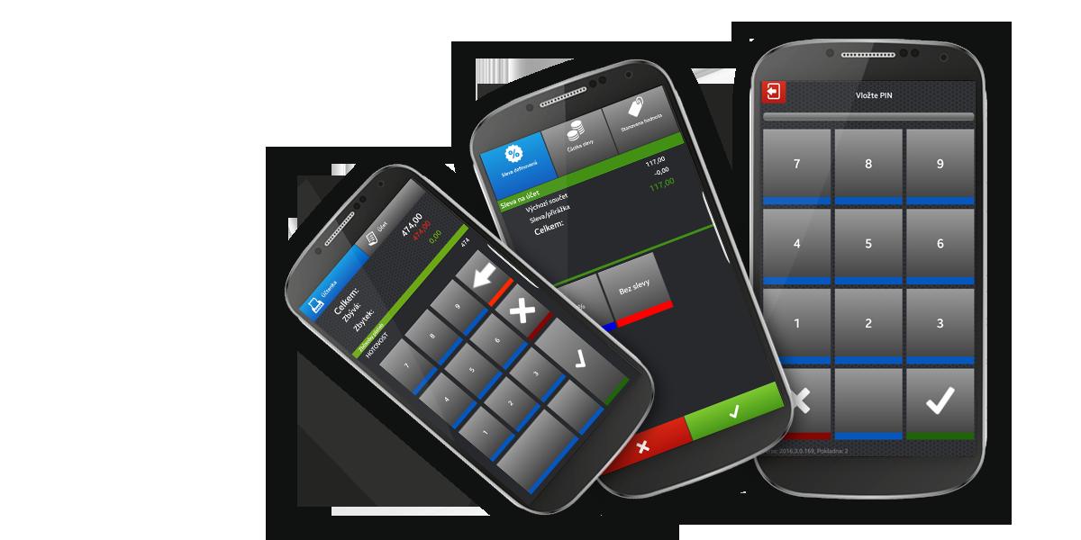 mobilní číšník
